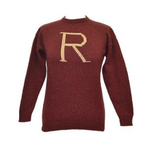'R' FOR RON KNITTED SWEATER