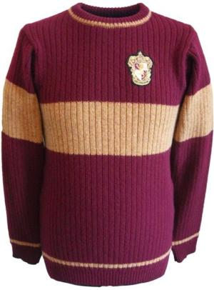 OFFICIAL WARNER BROS. HARRY POTTER GRYFFINDOR QUIDDITCH SWEATER