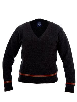 SCARLET AND GOLD SWEATER 100% LAMBSWOOL