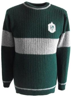 OFFICIAL WARNER BROS. HARRY POTTER SLYTHERIN QUIDDITCH SWEATER