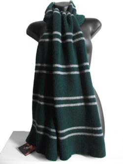 OFFICIAL WARNER BROS. HARRY POTTER SLYTHERIN SCARF 300g