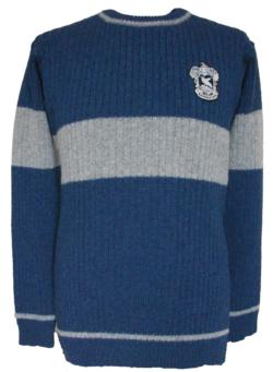 OFFICIAL WARNER BROS. HARRY POTTER RAVENCLAW QUIDDITCH SWEATER
