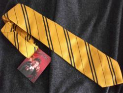 OFFICIAL WARNER BROS. HARRY POTTER HUFFLEPUFF HOUSE TIE