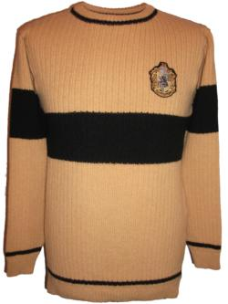 OFFICIAL WARNER BROS. HARRY POTTER HUFFLEPUFF QUIDDITCH SWEATER