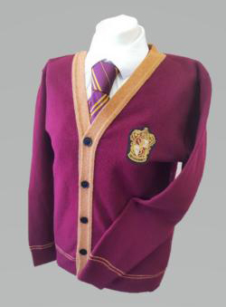 OFFICIAL WARNER BROS. HARRY POTTER GRYFFINDOR QUIDDITCH CARDIGAN