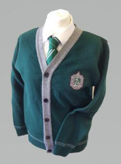 OFFICIAL WARNER BROS. HARRY POTTER SLYTHERIN QUIDDITCH CARDIGAN