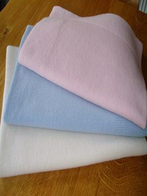 Cashmere Single colour Baby Blanket (60x90cm)