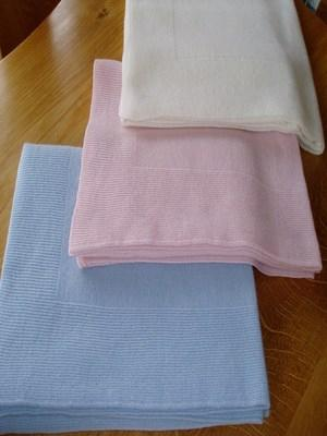 Cashmere Single Colour Baby Blanket (90x120cm)